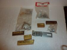 Vintage Lot of Assorted Hardware Hinges Mending Plates Other  S-23