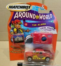 "Matchbox Ford Explorer Sport Trac ""The Alamo"" new on card"
