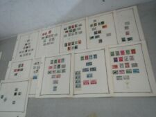 Nystamps Canada Newfoundland many mint old stamp collection Scott page