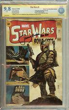 Star Wars Boba Fett #1 Signed Jeremy  Bulloch CBCS CGC 9.8 Comic Pop Collectible