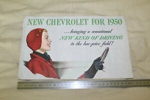 (MN1/G) Brochure Catalogue NEW CHEVROLET FOR 1950
