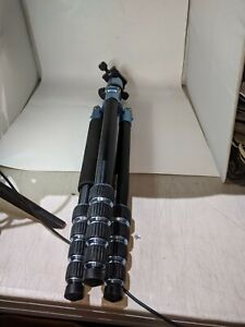 "Manfrotto Element 65"" Tripod Blue/black for Canon Nikon Panasonic DSLR Gopro"