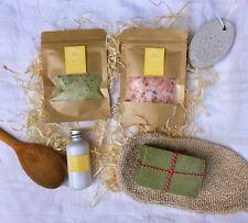 Spa Gift Set, Olive Oil Soap, Birthday Gift Set, Gift for Her, Natural Bath Gift