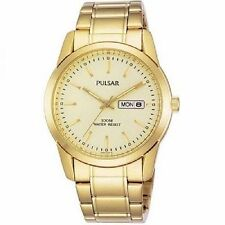 Pulsar Wristwatches with Date Indicator