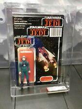 Star wars vintage tri logo a-wing pilot clipper ukg afa figure last 17 85/85/85