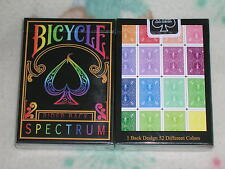 1 deck  Bicycle Spectrum Playing Cards - Black Seal - Limited Edition - SEALED