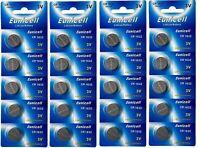 ENVOI SOUS SUIVI EUNICELL 20 piles CR1632 1632 3V Lithium