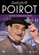 Agatha Christie's Poirot, Series 13 New DVD UK Broadcast