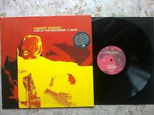Cabaret Voltaire - LIVE AT THE HACIENDA 11.08.83 - LP 2005 italy press new wave