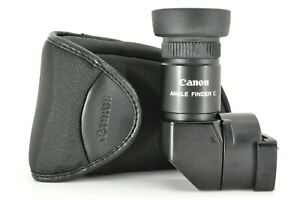 """"""" Near MINT """" Canon Right Angle View finder C w/ Case for Film Camera From JAPAN"""