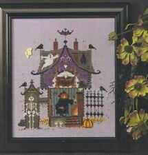 HALLOWEEN OPEN HOUSE CROSS STITCH CHART, CRICKET COLLECTION, VICKI HASTINGS