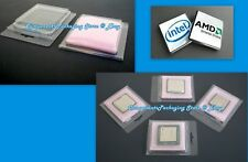 100 CPU Clam Shell Case for Intel & AMD Processor with Anti Static Foam - New