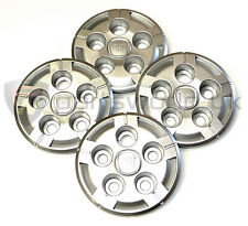 "Set Of Four Brand New Fiat Ducato & Motorhome 15"" Steel Wheel Centre Cap Trims"