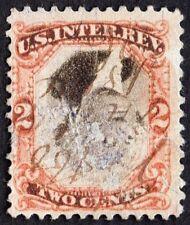 "US Sc# R135b USED { ""INVERTED CENTER"" ERROR } REVENUE OF 1871 ""SCARCE CV$ 700.00"