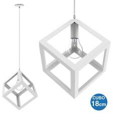 lampada a sospensione cubo in vendita Lampadari da