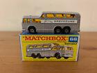 Matchbox Superfast 66 Greyhound Coach Pink Base
