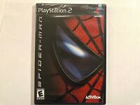 Spider-Man 1st Print (PlayStation 2 PS2 2002) FACTORY SEALED! - RARE! FREE SHIP