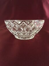 Lenox Crystal Bowls Diamond Pattern