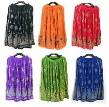 20 pcs lot Indian Bollywood boho gypsy tribal belly dance sequins Jaipur skirts