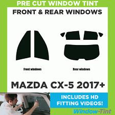 Pre Cut Window Tint - Mazda CX-5 2017 Full Kit