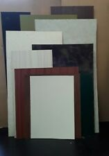 11 Offcuts Laminated Plastic (Formica Type)