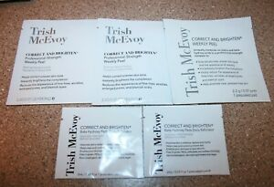 TRISH McEVOY Correct and Brighten Professional Strength Weekly Peel & Daily Pads