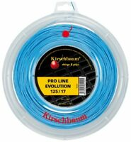 Kirschbaum Reel Pro Line Evolution Tennis String, 1.25mm17-Gauge, Blue