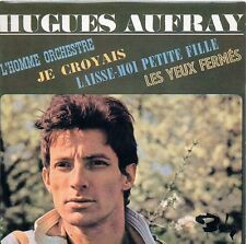 ★☆★ CD Single Hugues AUFRAYL'homme orchestre EP - 4-track CARD SLEEVE  ★☆★
