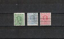 Norwegen Michelnummer 89 - 91 gestempelt (europa:1713)