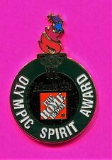 1996 OLYMPIC HOME DEPOT PIN OLYMPIC SPIRIT AWARD PIN