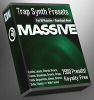 Trap 7,500 NI Massive Synth Presets - LOGIC ABLETON FL STUDIO Cubase Logic Pro