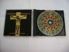 LAUDATE DOMINUM II - CD EXCELLENT CONDITION 1997 - NOMADI BUBOLA ROCCHI