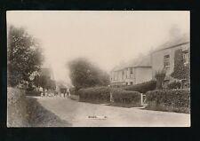 Dorset WOOL Village c1900/10s + local children RP PPC
