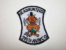 b9333 US Army Vietnam 219th Aviation Company Headhunters  IR39B