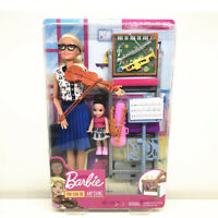 Barbie You Can Be Anything MUSIC TEACHER Doll Playset New in Original Box Mattel