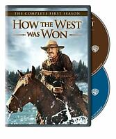 HOW THE WEST WAS WON COMPLETE FIRST SEASON 1 New Sealed 2 DVD Set James Arness