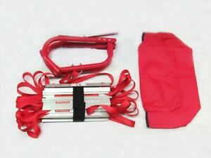 Emergency Fire Escape Ladder 3 Storey (Window Home Portable Roll Out Exit 7.3M)