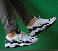 NIKE AIR ZOOM ALPHA Trainers Gym Casual - White Black - UK Size 10.5 (EUR 45.5)