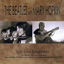 THE BEATLES with MARY HOPKIN Voice Of Something 2CD MINI LP
