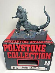 Godzilla 2003 Polystone Collection Resin Diorama Figure Japanese import Gamera