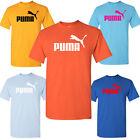Puma Mens Short Sleeve Logo Graphic/Gildan T-Shirt (Read Description)