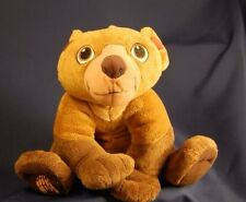 "Koda Disney Movie Brother Bear Lovey Cute Plush 10"" Stuffed Animal Brown Teddy"