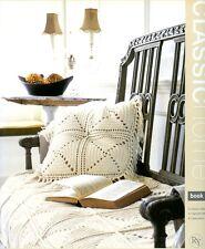 Rowan Classic Home Book Five - 16 Knitting & Crochet Patterns - Throws, Pillows+