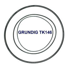 SET RIEMEN GRUNDIG TK146 TONBANDMASCHINE EXTRA STRONG FABRICKFRISCH NEU TK 146