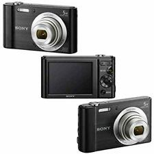 Sony CyberShot DSC W800 Silver 20.1MP Slim Point and Shoot Camera Black with Pho