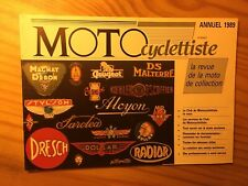 revue moto Le Motocyclettiste annuel 1989