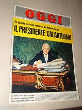 OGGI=1964/34=ANTONIO SEGNI=CHERASCO=AMERIGO GOMEZ=PAOLO CARLINI=LIANA ORFEI=