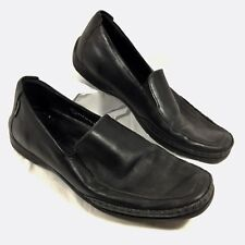 Men's Mephisto Driving Moccasins Black leather Loafers Sz 9 GUC
