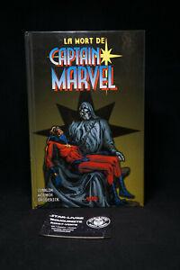 Marvel Panini Best Of - la Mort de  Captain Marvel - Jim Starlin Rare Hardcover