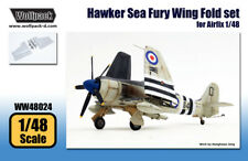 Wolfpack WW48024, Hawker Sea Fury Wing Fold set (for Airfix 1/48) , SCALE 1/48